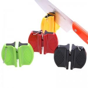 fast knife sharpener camping outdoor mini knife sharpener