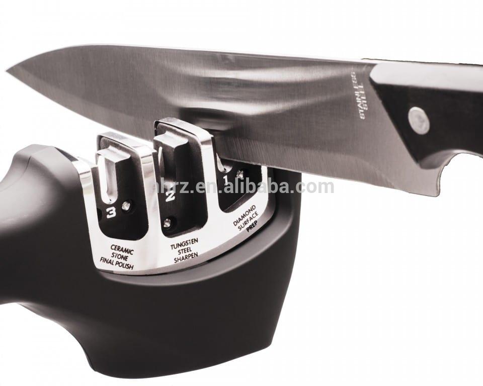 Good Wholesale Vendors Diamond 2 Stage Knife Sharpener - Kitchen Accessory&Kitchen Gadgets knife sharpener – Renzhen