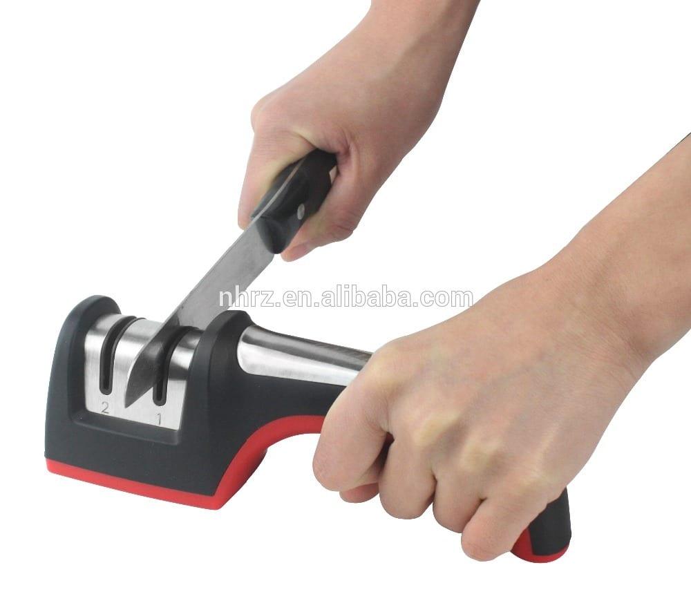 "2017 Good Quality Scissors Sharpener Knife Sharpener - Cheap PriceList for Rose Wood Handle With 8"" Knife Sharpener – Renzhen"