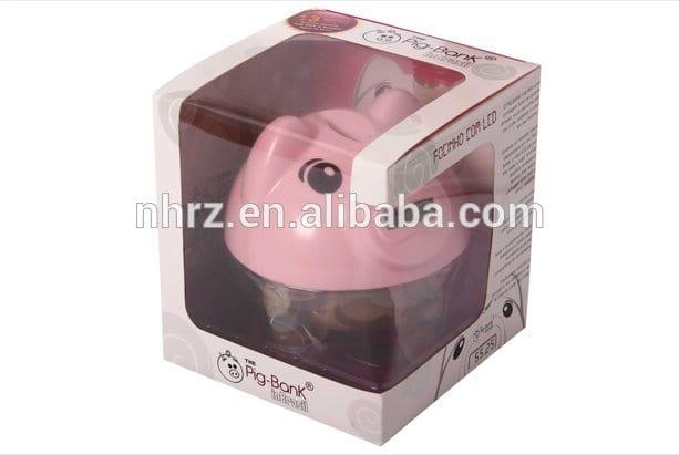 factory directly custom plastic cute pig bank