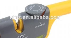 the best kitchen home knife sharpener adjustable manual 3 stage knife sharpener
