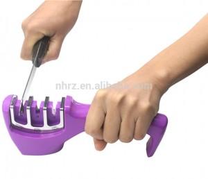 Sharpening Stone Household Knife Sharpener Kitchen Tools 3 Stages Kitchen Sharpener