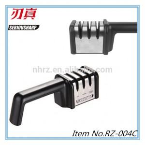 Professional China Ceramic Knife Sharpener - Diamond 3-Stage Manual Sharpener – Renzhen