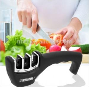 Kitchen Knives Tools New 3 Stage Ceramic Kitchen Knife Sharpener