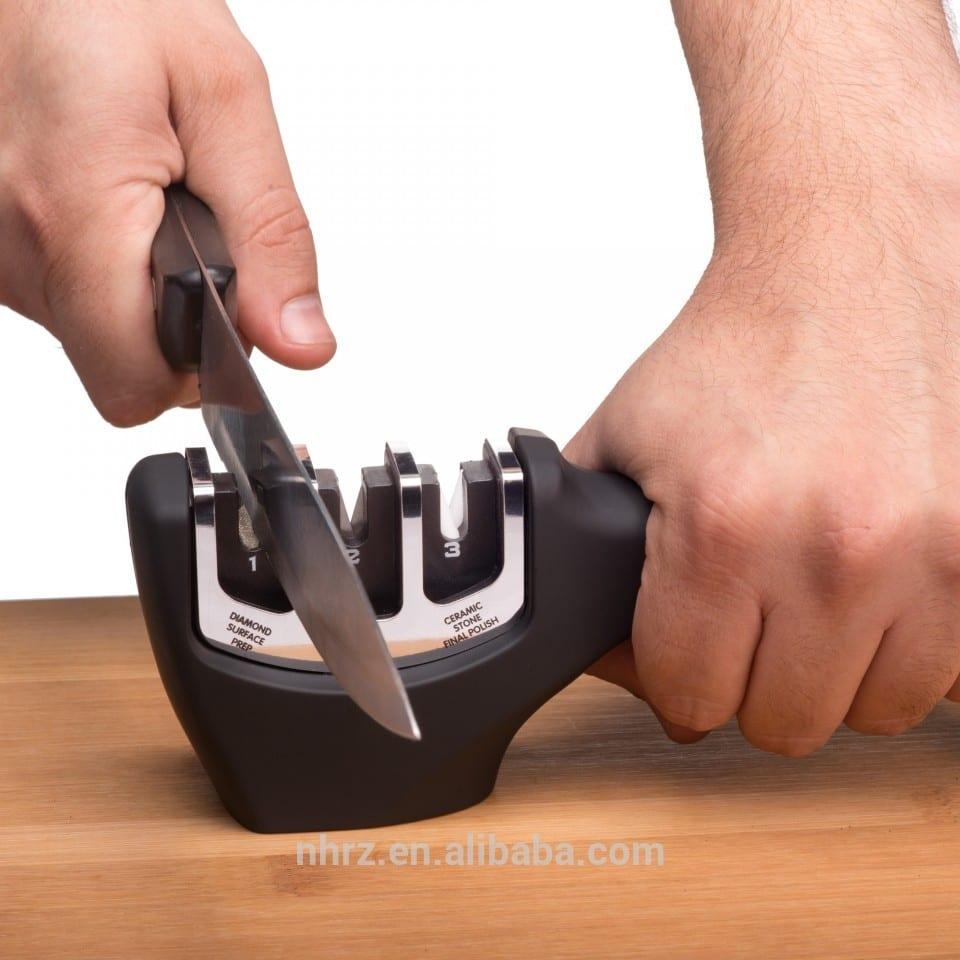 Top Quality New Kitchen Knife Sharpener - Seriousharp top quality best sell knife sharpener – Renzhen