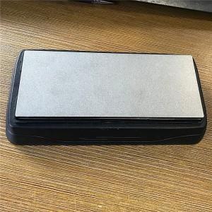 6-Inch Diamond Whetstone Sharpener – Fine With Plastic Box