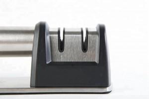 2 wheel sharpening system Diamond&Ceramic knife sharpener Sharpens Dull Knives Quickly
