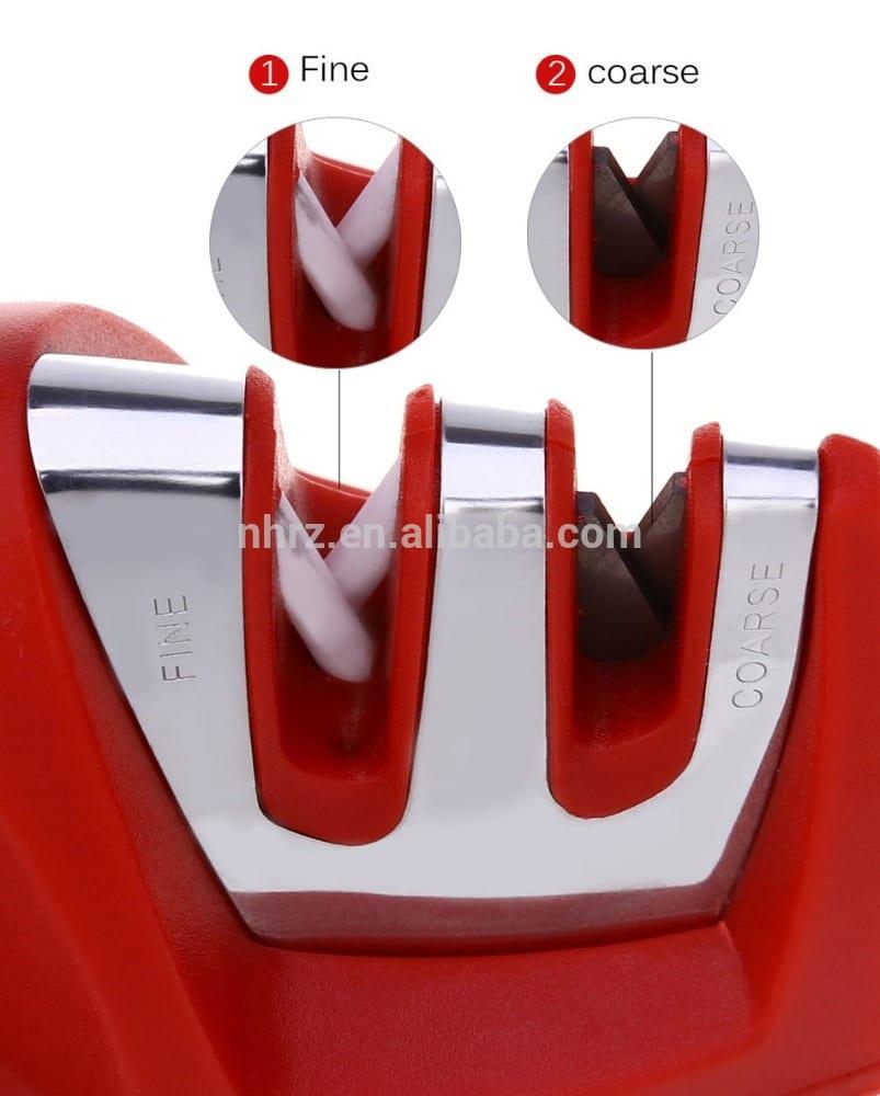 Best Selling manual knife sharpener Diamond Coated Knife Sharpener  hand held knife sharpener Featured Image