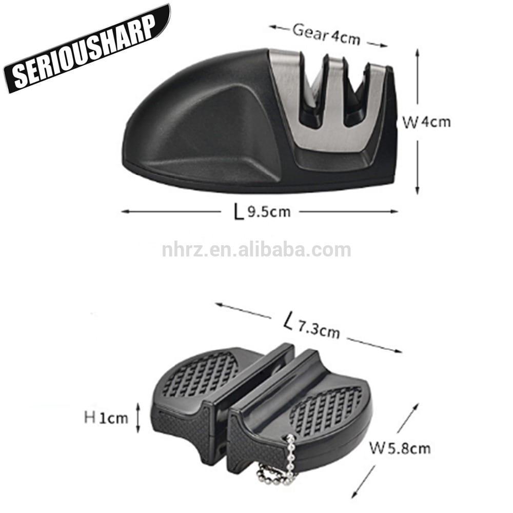 Manufacturing Companies for Mini Knives Sharpener - Portable Mini Outdoor Pocket Sharpener Carbide Ceramic Shapening Tool – Renzhen