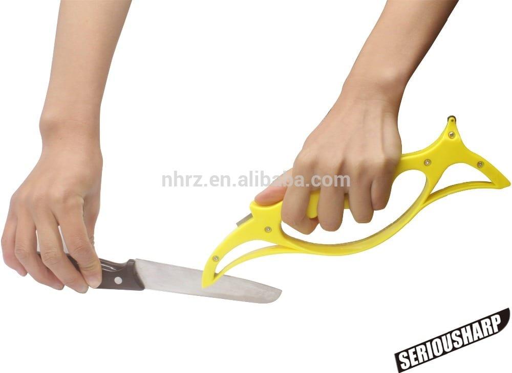 Hunting/Utility/Sport/Pocket Knife Kitchen Scissors Sharpener Handheld Featured Image