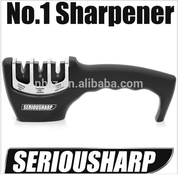 Factory Cheap Hot Diamond Coated Knife Sharpener - Factory Cheap Hot As Seen On Tv Kitchen Knife Sharpener Stone – Renzhen