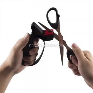 Reasonable price Amazon Hot Products Best Manual Kitchen Knife Sharpener 3 Stage Diamond Kitchen Blade Sharpening Tool