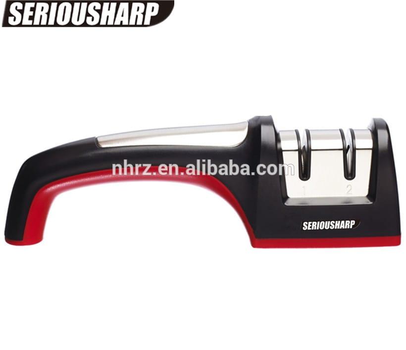 Cheap price High Quality Mini Knife Sharpener - Sharpening Stone Household 2 stage Knife Sharpener Kitchen Knives Tools – Renzhen