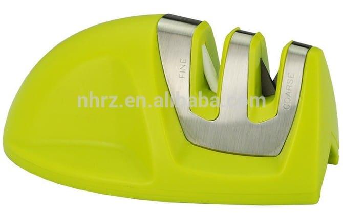newest style easy sharp knife sharpener 2 step knife sharpener