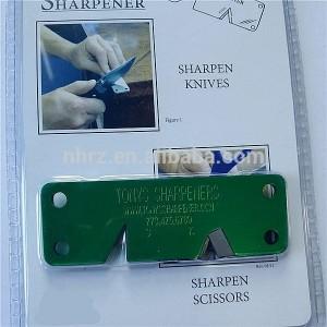 OEM Factory for Ceramic Blade Knife Sharpener - outdoor metal pocket kinfe sharpener – Renzhen